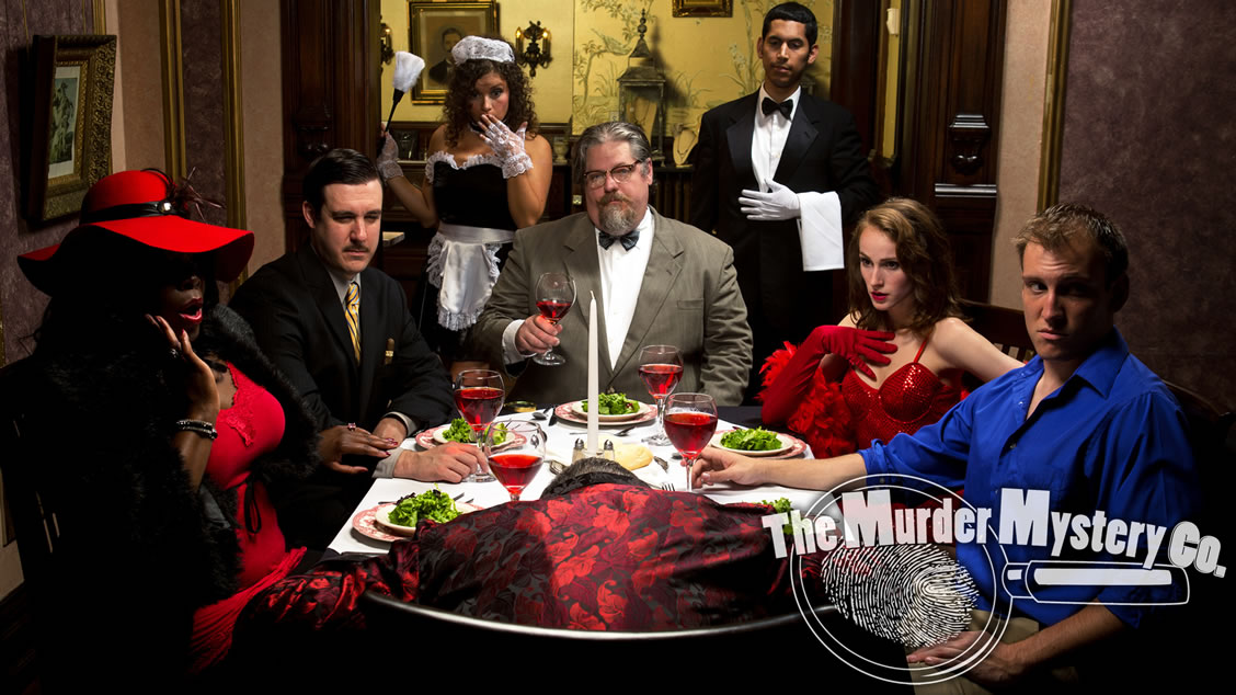 Portland murder mystery party themes